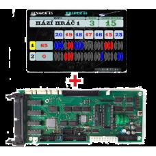 Set Videodisplay + CPU